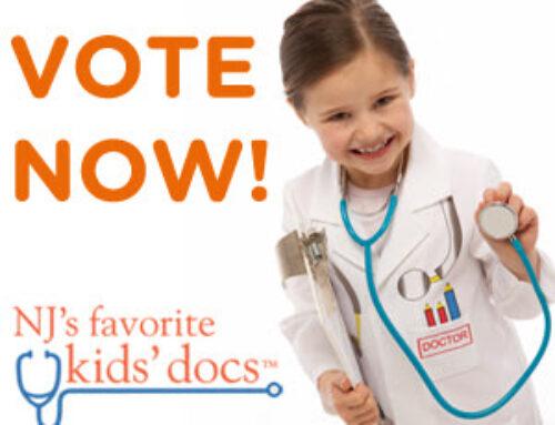 Please Vote for Samra Pediatrics for Favorite NJ Kids' Doctor